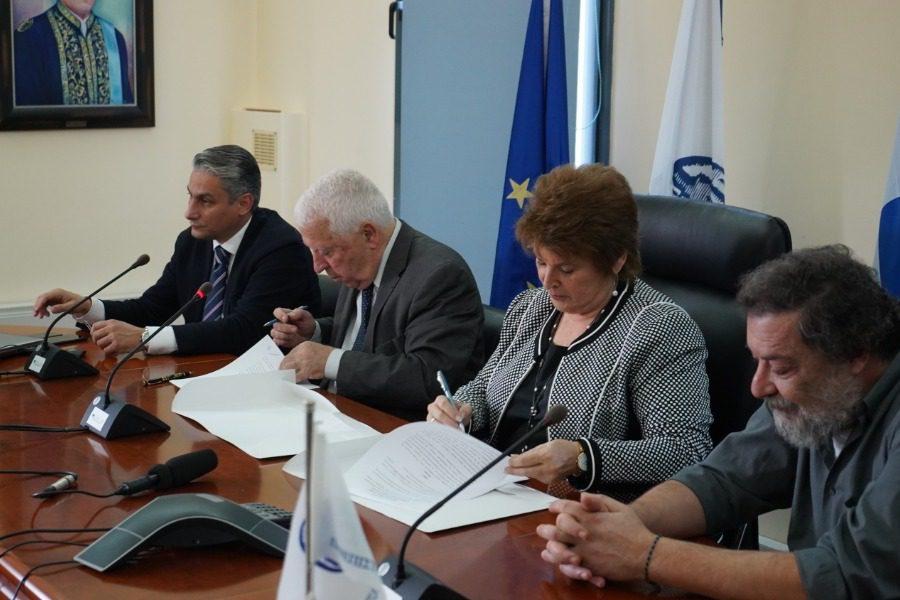 Tα πρώτα έργα του νέου συμφώνου Περιφέρειας‑ Πανεπιστημίου