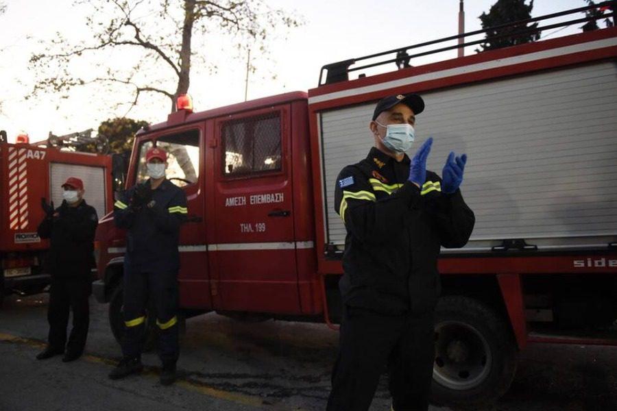 Δωρεές μέσων ατομικής προστασίας στην Πυροσβεστική