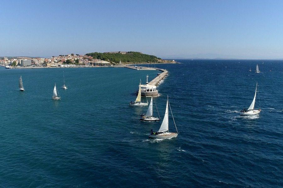 Tα αποτελέσματα της πρώτης ημέρας της Aegean Regatta