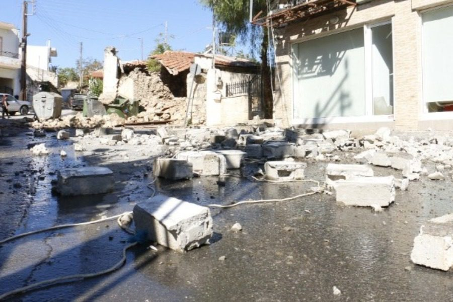 Νεκρός από τον σεισμό στην Κρήτη