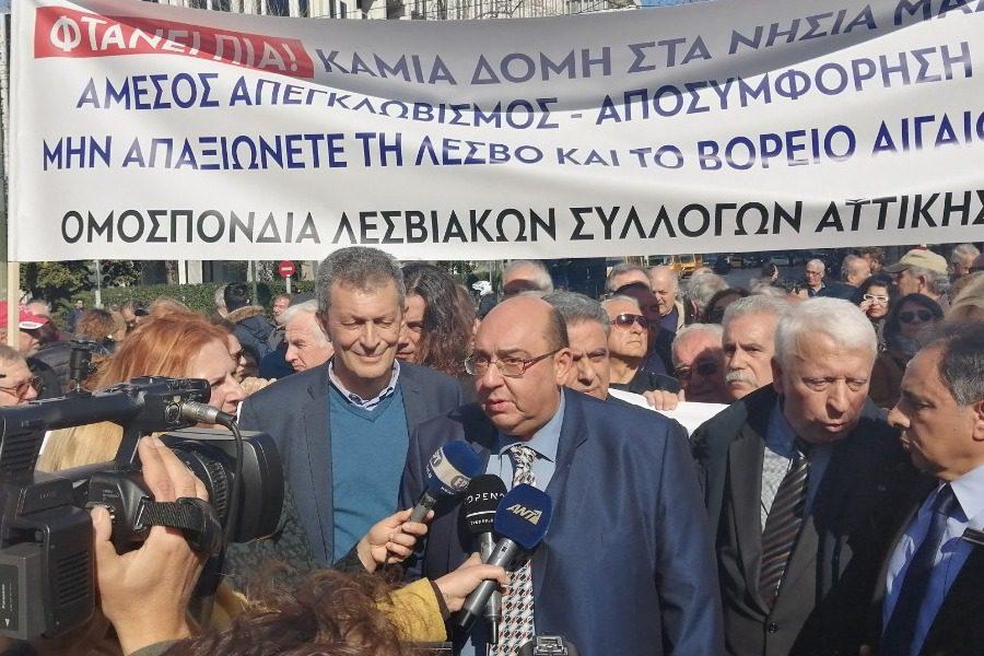 Στην Αθήνα ο Βέρρος για την συνάντηση με Μηταράκη