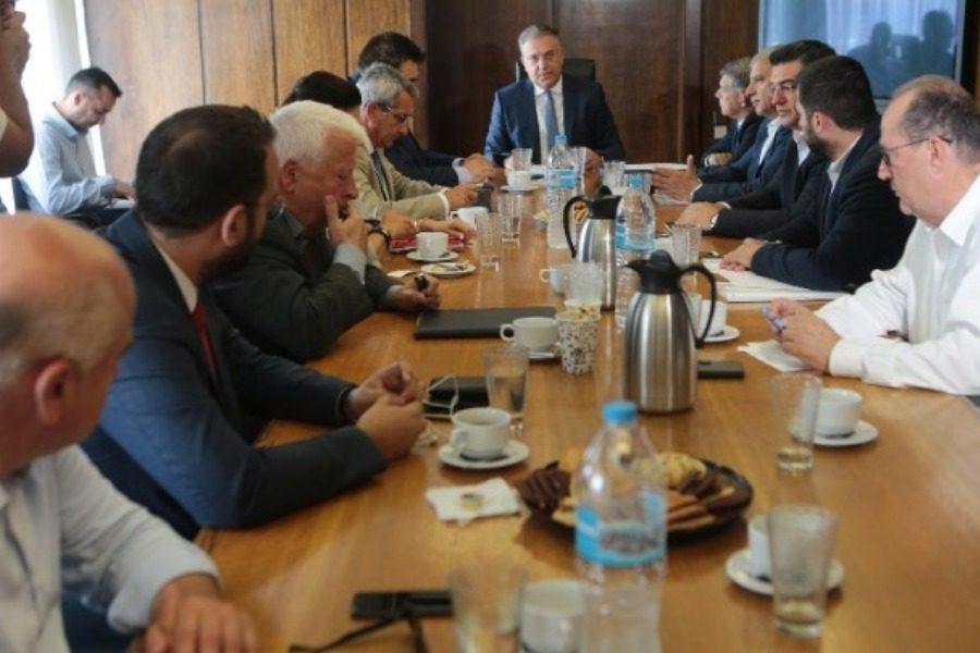 Στη συνάντηση με τον Υπουργό Εσωτερικών ο Κ. Μουτζούρης