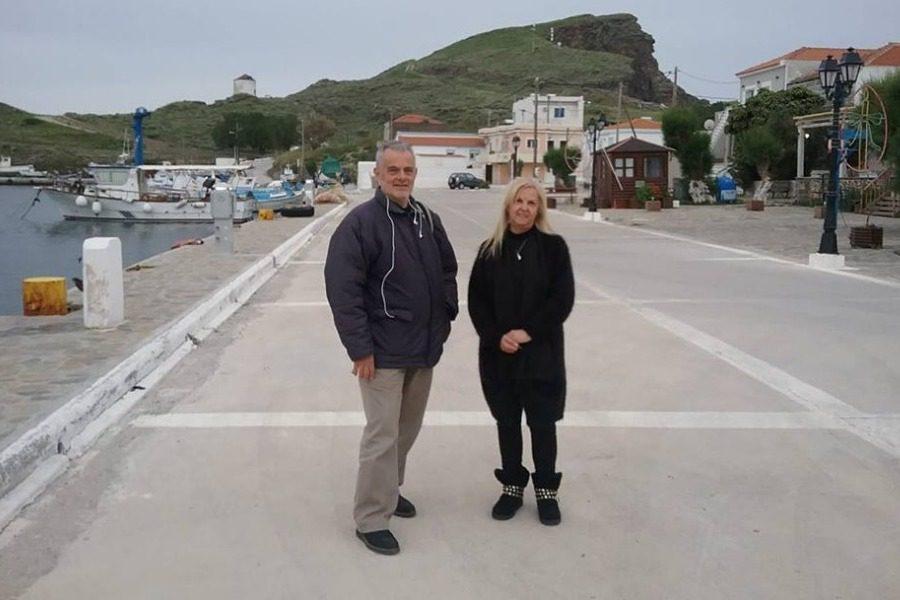 Σε Αη Στράτη, Ψαρά και Χίο ο Γιάννης Σπιλάνης