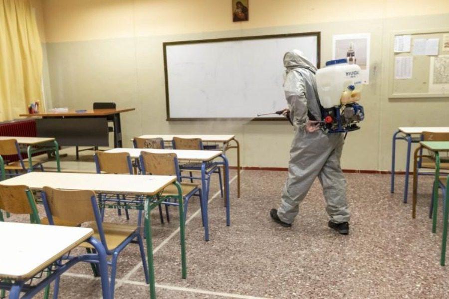«Αμεσα τεστ και απολύμανση στο σχολείο της Καλλονής»