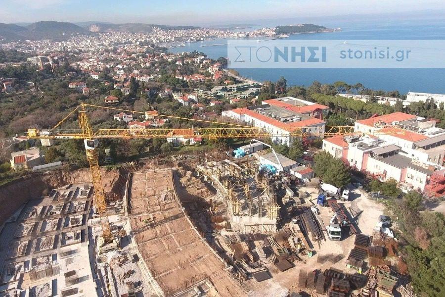 Ξεκίνησε η κατασκευή της Σχολής Κοινωνικών Επιστημών στο «Ξενία»