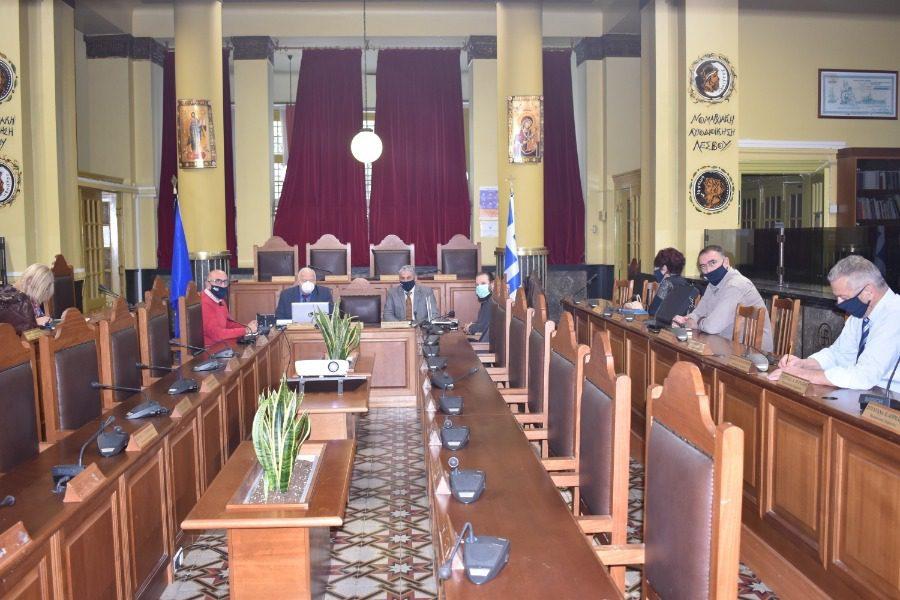 Σύσκεψη για τον COVID 19 στην Περιφέρεια Βορείου Αιγαίου