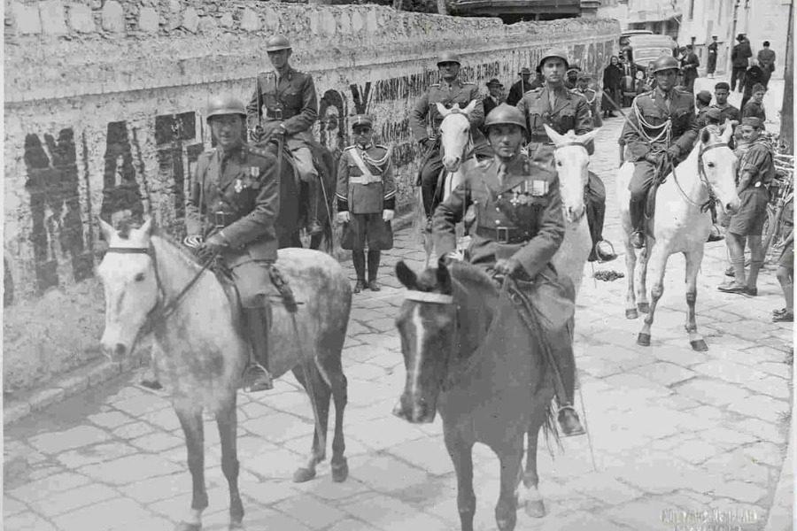 Η οδός Αγίου Θεράποντος στα χρόνια της δικτατορίας του Μεταξά