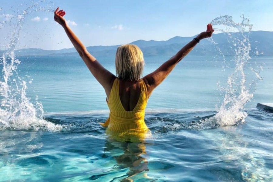 «Το νερό που γιατρεύει το σώμα και χαϊδεύει την ψυχή...»