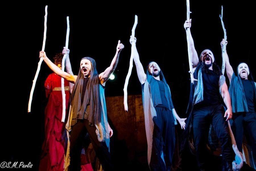 Ο Αγαμέμνων του Αισχύλου στο Δημοτικό Θέατρο Μυτιλήνης