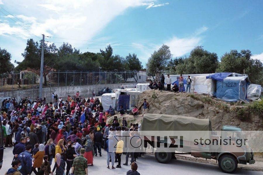 Αλλοι 116 πρόσφυγες έφυγαν σήμερα και έπεται συνέχεια