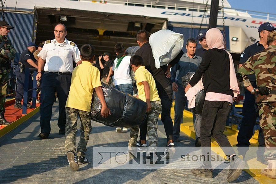 Τον Ιούνιο έφυγαν 2.144 πρόσφυγες και έπεται συνέχεια…