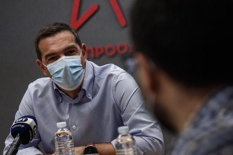 Σφοδρή επίθεση Τσίπρα στους τραπεζίτες