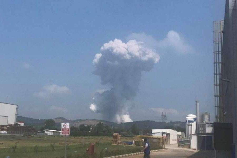 Ισχυρή έκρηξη σε εργοστάσιο πυροτεχνημάτων στη Τουρκία