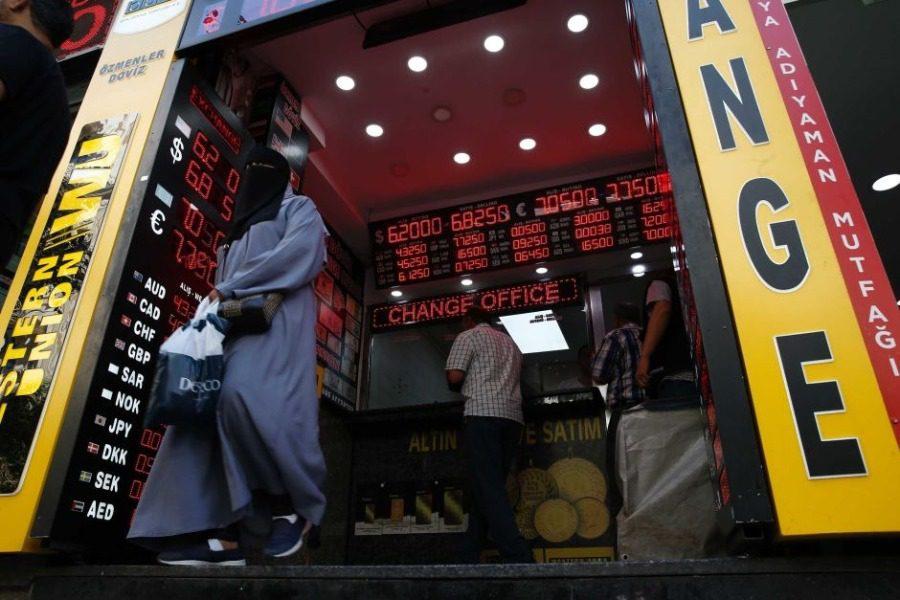 Η ελληνοτουρκική ένταση «ρίχνει» την τουρκική λίρα