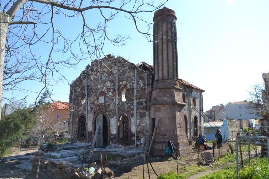 Αναστηλώνεται το βαλιδέ τζαμί στην Επάνω Σκάλα