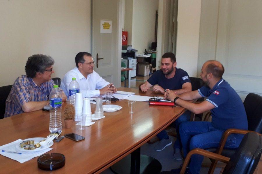 Συνάντηση Βαλσαμίδη με το ΤΕΕ