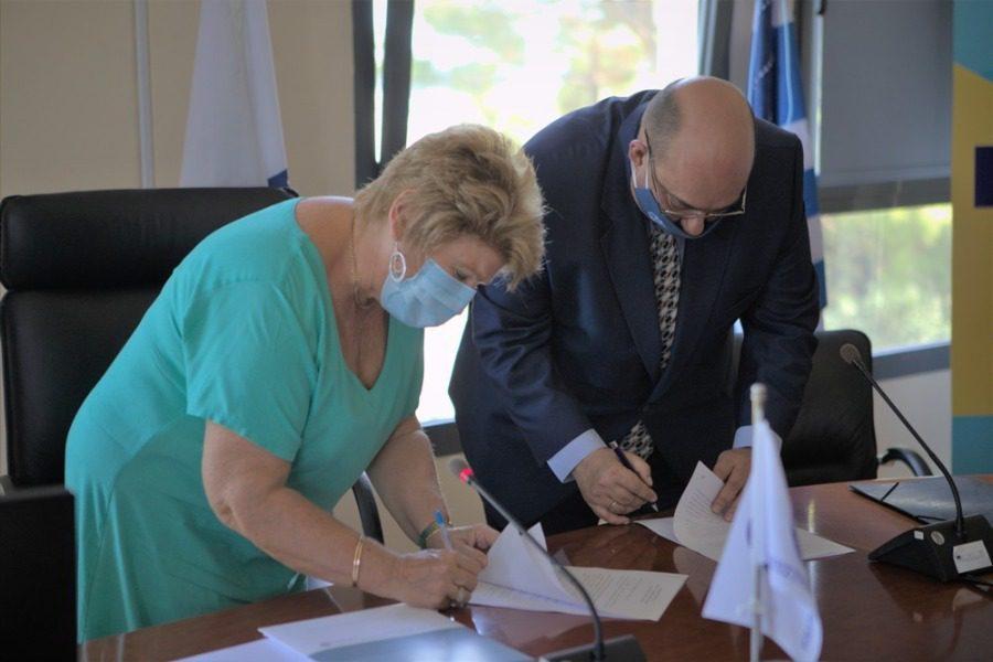 Εδραιώνεται η συνεργασία Δυτικής Λέσβου – Πανεπιστημίου Αιγαίου