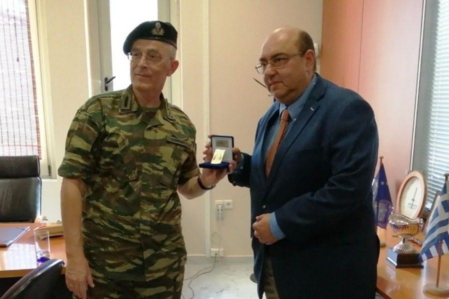 Επίσκεψη του Αρχηγού ΓΕΣ στο δήμο Δυτικής Λέσβου
