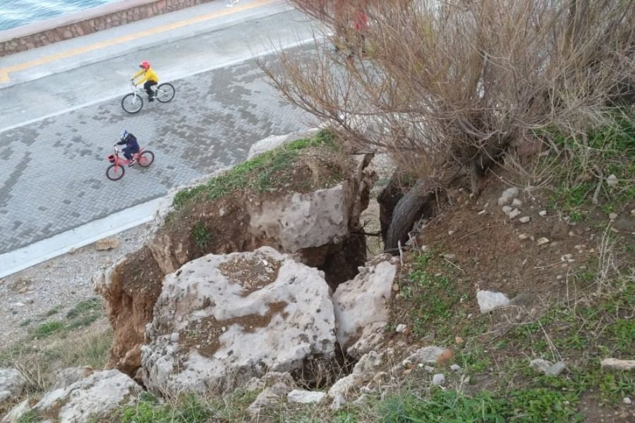 Βράχος, κίνδυνος ‑ θάνατος