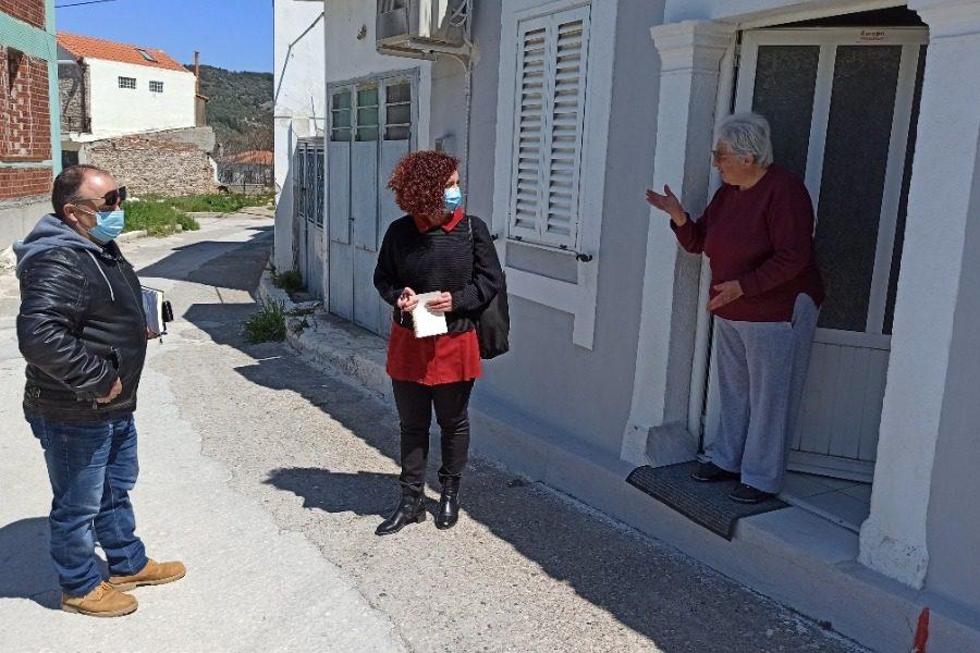 Με τους σεισμόπληκτους και σε Κέντρα Υγείας Μυτιλήνης και Αντισσας