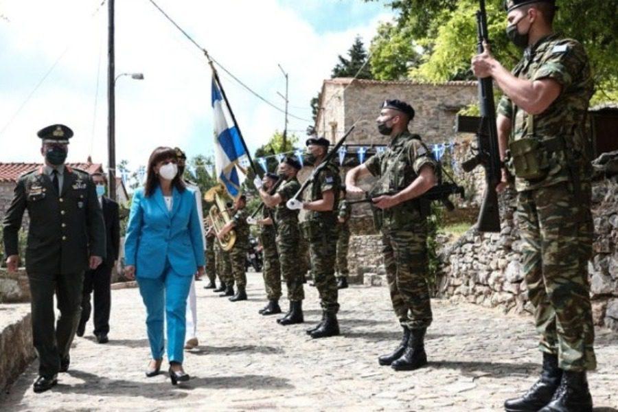 Η Πρόεδρος της Δημοκρατίας στις εκδηλώσεις μνήμης της Σφαγής της Χίου