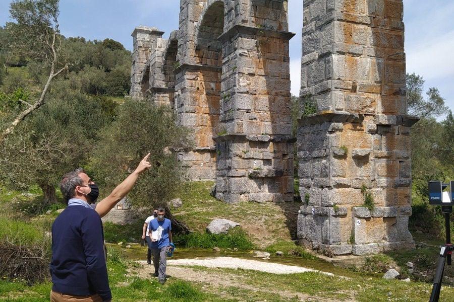 Στο Ρωμαϊκό Υδραγωγείο κλιμάκιο μελετητών