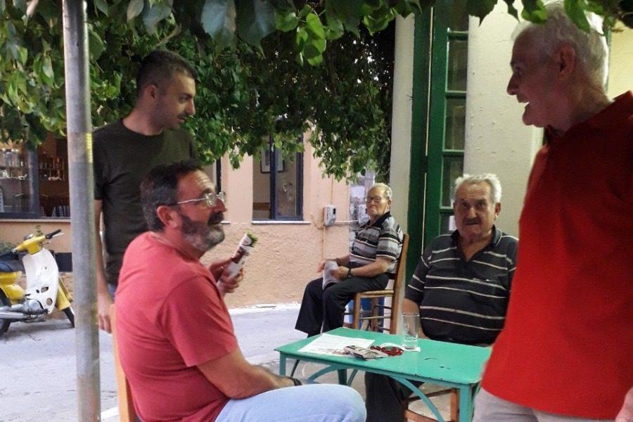 Στα χωριά οι υποψήφιοι του ΚΚΕ